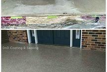 Peoria Illinois Epoxy Flooring | Concrete Resurfacing | Concrete Sealing