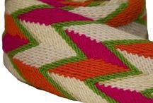 wayuu belt n loom  weaving
