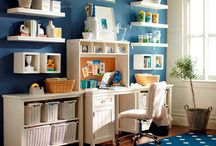 Sewing/craft space ideas  / by Lah Di Dahs
