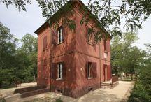 La casa Rossa / Residenza di Alfredo Panzini a Bellaria Igea marina