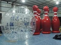 Bubble Games! / We just added new games to our inventory! Bubble Soccer & Bubble Bowling!
