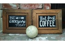 Wise Chalk Studio Decor / All pins on this board are our previous work. Check out what we have done and can do