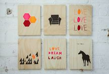 Plywood pretties