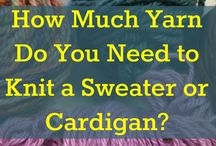 Knitting / Ladies cardigans, jackets and sweaters