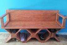 Wooden creations by Markus Watkins