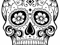 Diadelosmuertos drawings
