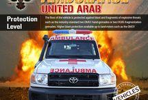 Armored or Bulletproof Ambulance UNITED ARAB EMIRATES