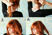 Hair style | Tutorials / tutorials and ideas to try