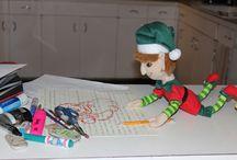 Tours pour lutin / Elf on the shelf