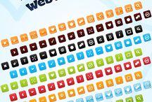 Recursos desarrollo web / Botones, plantillas, tipografías, fuentes, separadores, íconos, texturas, fondos