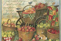 Tile - fruit & veg