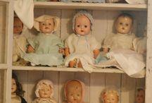 Antque dolls