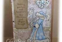 Hobby Art / Crafts and Cards using Hobby Art Stamps