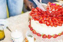 Tort truskawkowy / Pyszny tort który zrobiłem na urodziny dla mamy