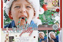 Scrapbooking | Christmas Inspiration / Christmas Scrapbooking