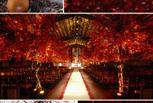 Yellow and orange weddings