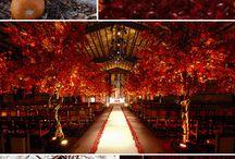 Yellow and orange weddings