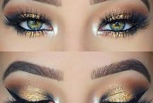 Green eyes make-up