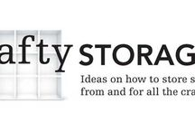 Craft Ideas Organization/Storage / by Glenda Lewis