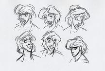 Modelsheets Male / Sketch male