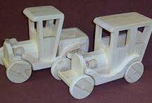 Drewniane samochody