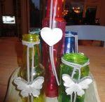 Glasdecoratie voor op tafel