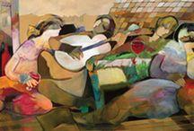Custom Framed Art Prints / Custom paintings are framed at Galleria Fine Arts 66 Glen Cove Road - Greenvale, NY 11548