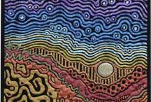 Aboriginal fabric quilts
