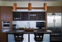 Brookhaven Kitchen Office / Office Kitchen featured at James Craig Furnishings in Houston, Texas.  Cabinet Design by: Nicki Kana