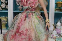 Барби широкая юбка