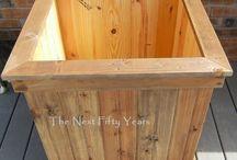 Hardwood Planter Box