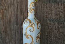 Wine bottles / by Designs by Zahra