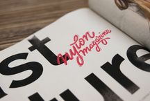 Lettering / by Olivier Gillaizeau