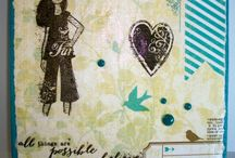 Mixed Media/journaling projects / Mixed media projects