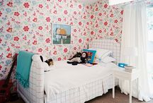 Bedrooms / by Catherine Brewer