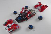model kit car model in 1/43