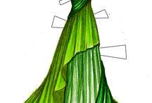 ドレス イラスト