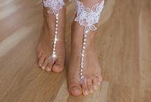 Bridal Beach Sandals