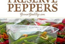 Preserve peppers