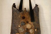 сумки из войлока