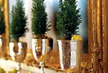 decorate with goblets