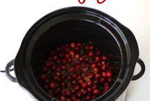 Cranberry sauce crockpot