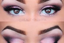 Makijaż smokey eye