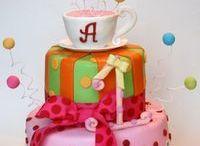 miam les beaux gâteaux!