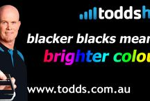 Special events advertising / TODDs HI-FI advertising