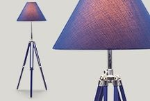 Fabby Lamps / I have a thing about lighting. Can just make a room. Here are some of my faves