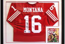 Sports Memorabilia / Whether its a professional autographed jersey from your favorite team, or you child's team, we frame your sports memorabilia to last with conservation grade materials including Truvue glass that will filter out 99% of damaging UV light.