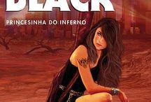 Livro Alice Black - Princesinha do Inferno / Coleção de ilustrações, citações, fotos e material gráfico sobre o livro Alice Black - Princesinha do Inferno