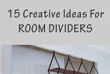 Divisórias - Ideias