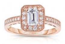 Engagement Rings Pink Collections From Van Scoy Diamonds / Stunning 14K diamond engagement rings pink collections including princess, marquise cut halo and more.